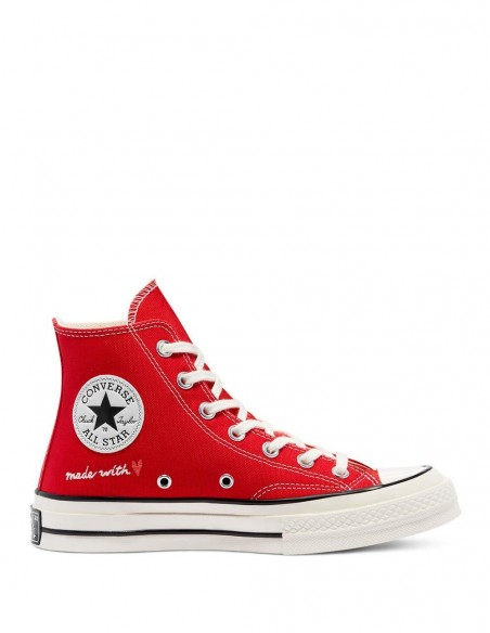 Converse Chuck 70 High Valentine's Day Roja Mujer