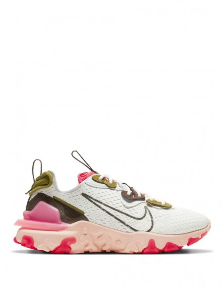 Nike React Vision Beiges Mujer Ci7523-103 Beige