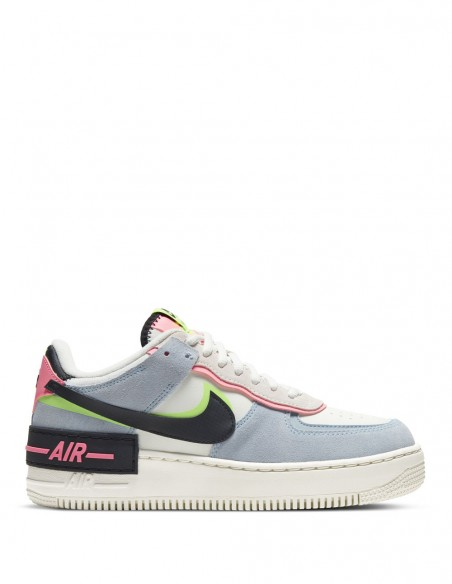 Nike Air Force 1 Shadow Multicolor Mujer