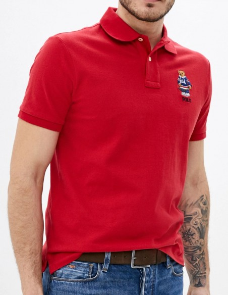 Polobear Polo Red Multicolor