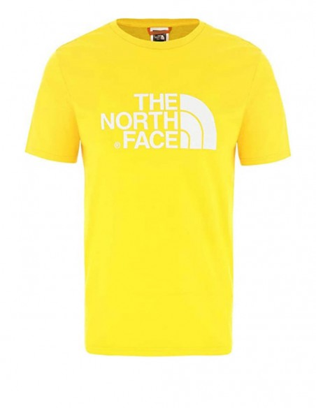 Camiseta The North Face Amarilla Mujer NF0A4M5PZDN
