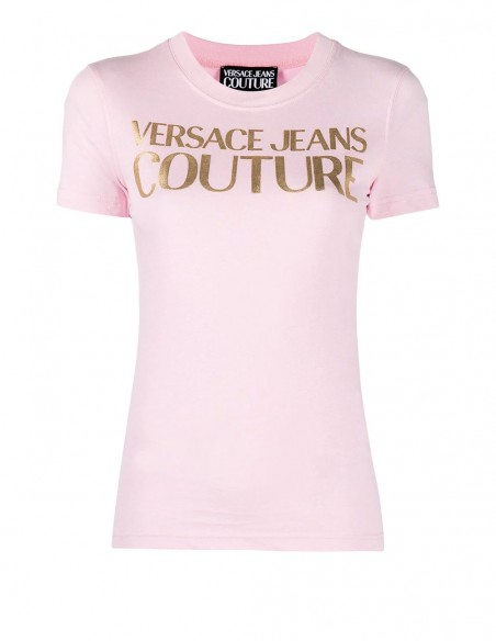Camiseta Versace Jeans Couture Rosa Mujer B2hwa7tb-30319-E402 Pink