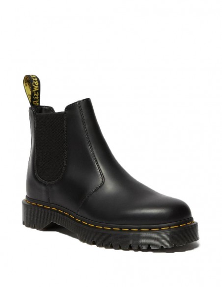 Botines Dr. Martens Chelsea Quad Negro Mate Mujer