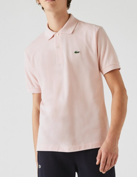 Polo Lacoste Classic Fit Rosa Hombre L1212-00-Ady Pink