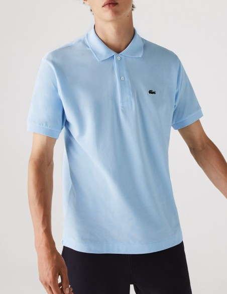 Polo Lacoste Classic Fit Azul Hombre