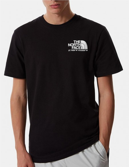 Camiseta The North Face Coordinates Negra Hombre