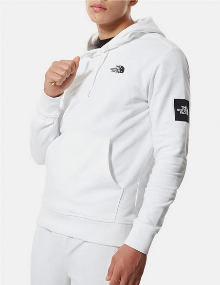 Sudadera con Capucha The North Face Black Box Blanca Hombre