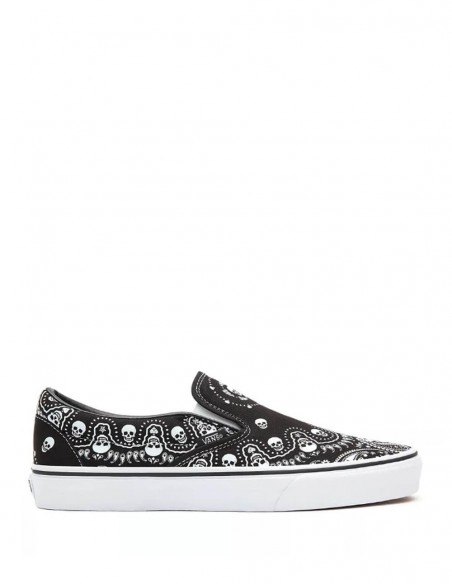 Vans Slip-On con Print Bandana Negras Mujer VN0A33TBD9S1