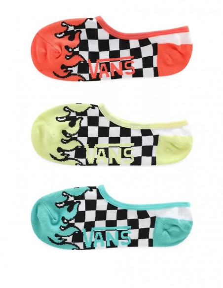 Calcetines Vans Multicolor Pack de 3 Unisex