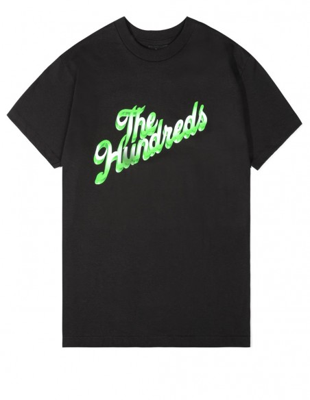 Camsieta The Hundreds con Logo 3-D Negra Hombre
