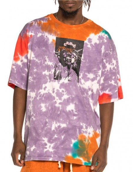 Camiseta Grimey Liveution Magic 4 Resistance Tie Dye Multicolor Hombre GA584-TDE