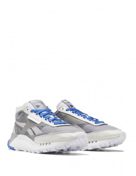 Reebok Classic Leather Legacy Grises y Azules Hombre
