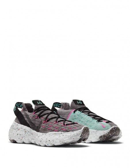 Nike Space Hippie 04 Grises Mujer CD3476-003