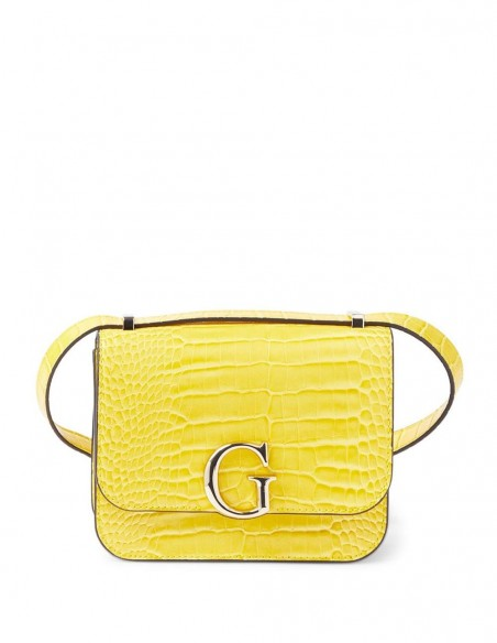 Bolso GUESS Crocodile Amarillo Mujer HWCG7991780-YELLOW