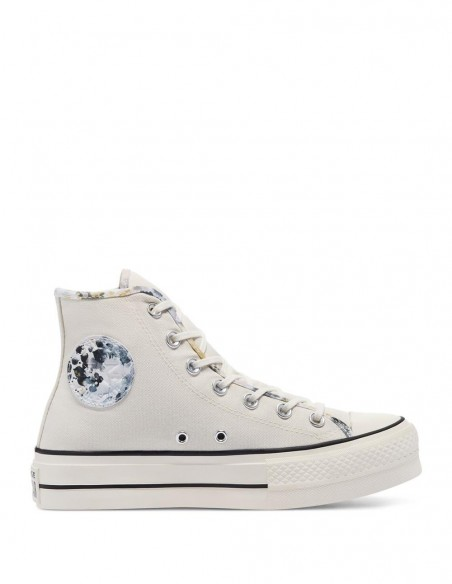 Converse Chuck Taylor All Star High Plataforma Beige Mujer 570969C