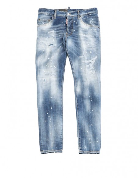 Jeans Dsquared2 Super Twinky Azules Hombre