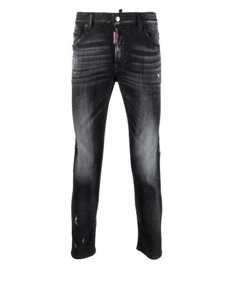 Jeans Dsquared2 Super Twinky Negros Hombre