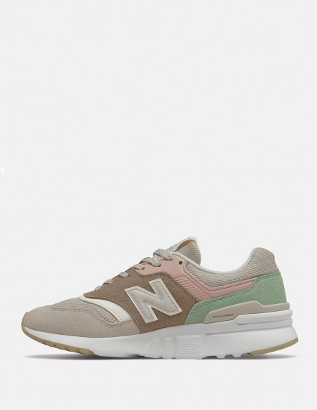 New Balance CW997 HVD Grises y Marrones Mujer