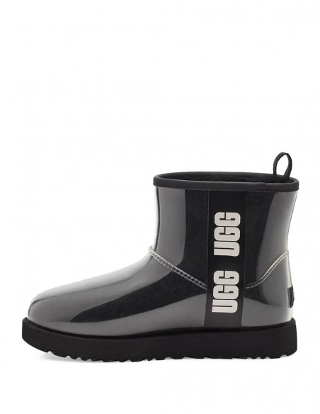 Botas UGG Classic Clear Mini Negras Mujer
