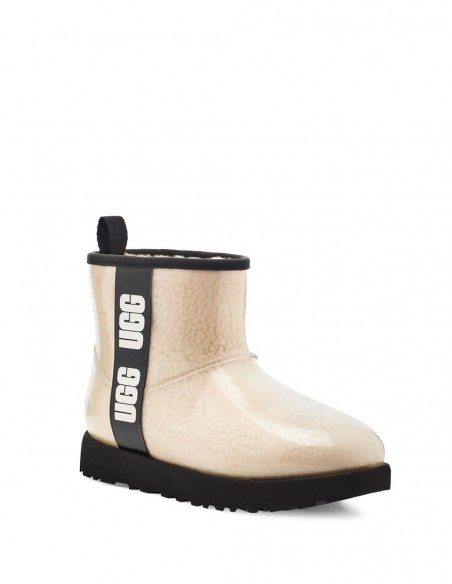 Botas UGG Classic Clear Mini Beiges Mujer