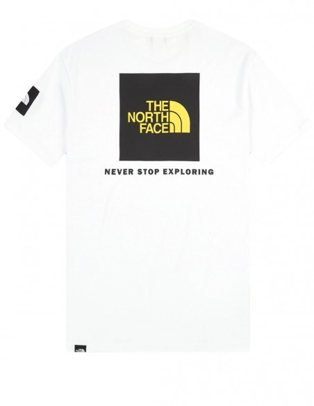 Camiseta The North Face Search & Rescue Blanca Hombre NF0A55IBFN41