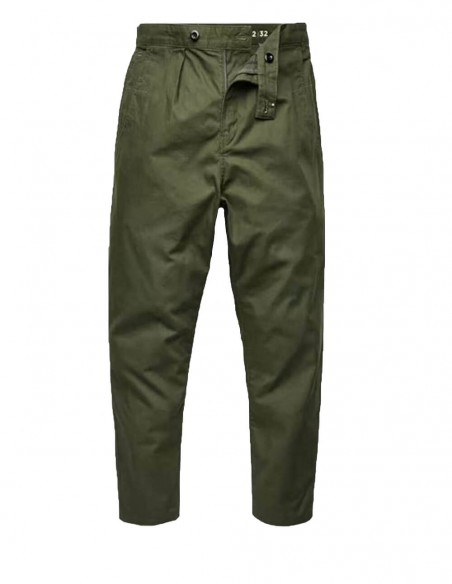 Pantalón G-Star Chino Relaxed Worker Verde Hombre