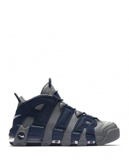 Nike Air More Uptempo 96 Grises y Azules Hombre