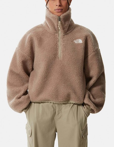 Forro Polar The North Face Sherpa Beige Mujer