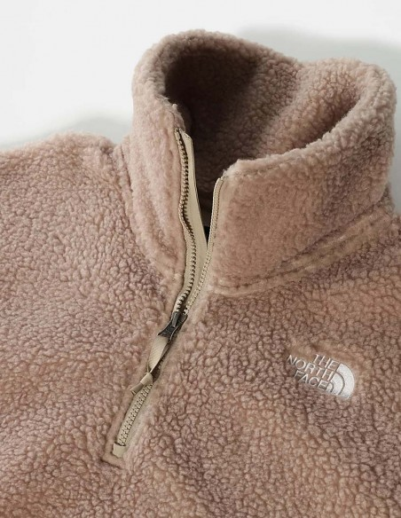 Forro Polar The North Face Sherpa Beige Mujer NF0A5GGICEL1