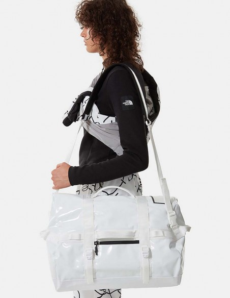 Bolso The North Face Base Camp Duffel Rolltop (XS) Blanco Unisex