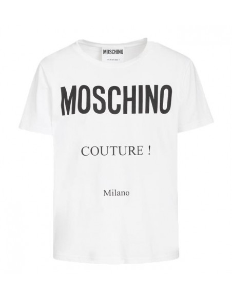Moschino Couture Blanco