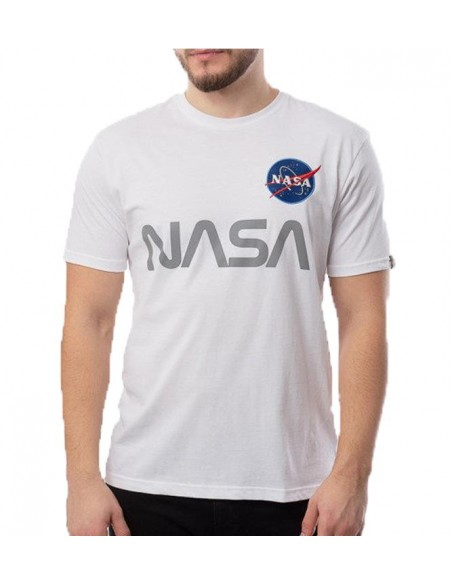 Nasa Reflective T Blanco