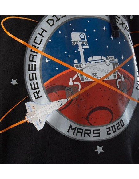 Mission To Mars Hoody Blackwhite