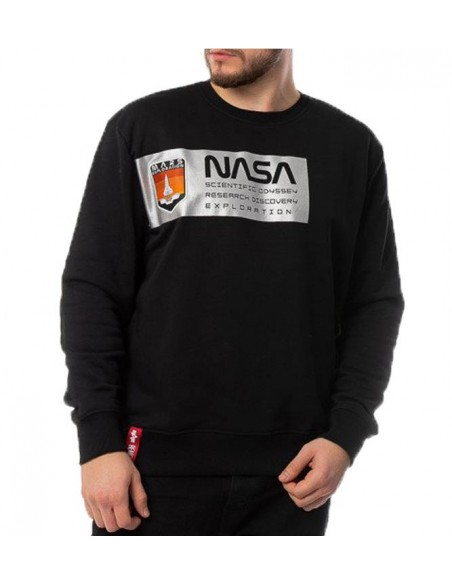 Mars Reflective Sweater Blackwhite