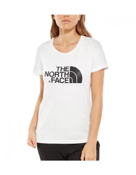 Women'S S-S Easy Tee Blanco