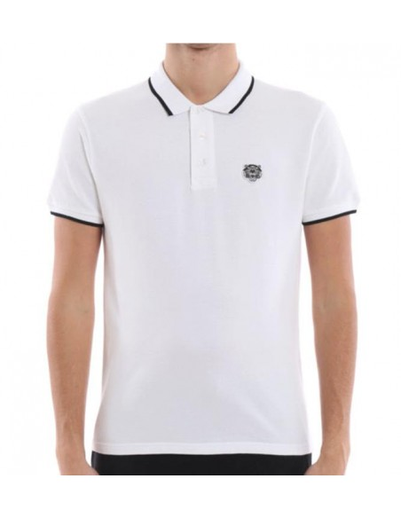 Tiger Crest K Fit Polo Black