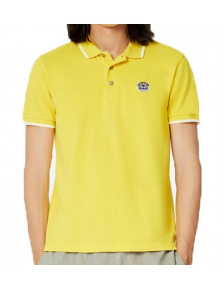 Tiger Crest K Fit Polo Amarillo