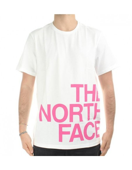 Men'S Ss Graphic Flow 1 White Pink