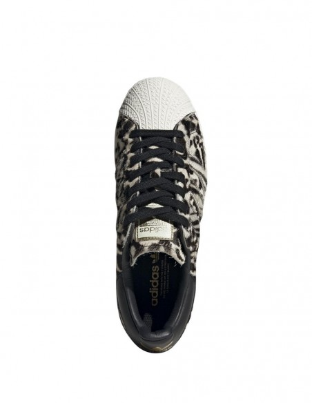 adidas Superstar Plataforma con Estampado Animal Mujer