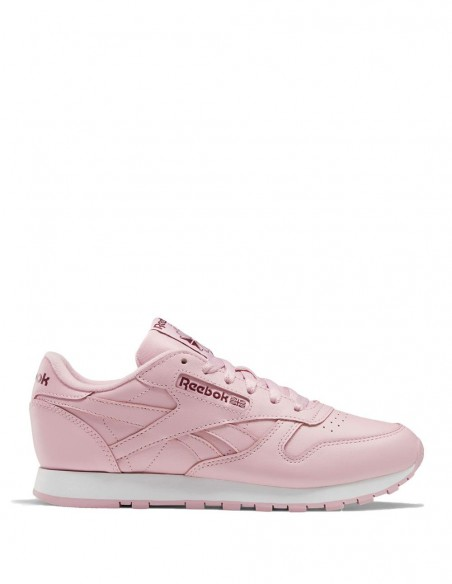Reebok Classic Leather Rosa Mujer White