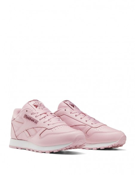 Reebok Classic Leather Rosa Mujer