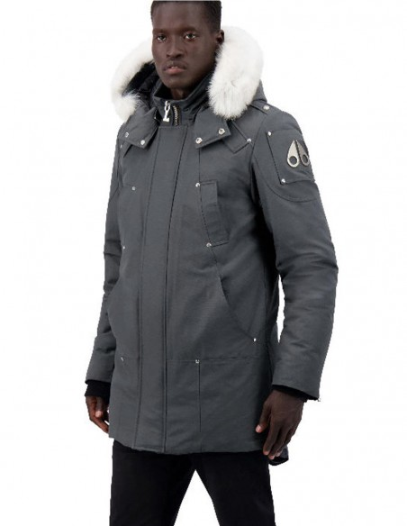 Parka Moose Knuckles Stirling Gris Hombre