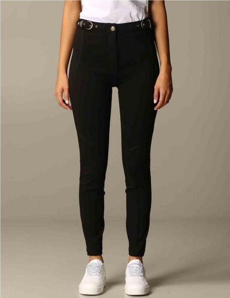 Pantalón Pitillo Versace Jeans Couture Negro Mujer