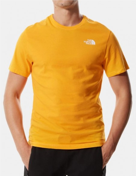 Camiseta The North Face Red Box Amarilla Hombre
