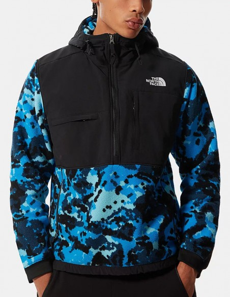 Forro Polar The North Face Denali 2 Cauflaje Azul Hombre