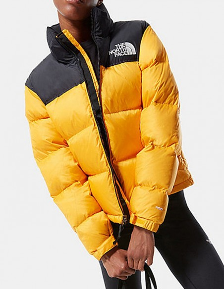 Plumas The North Face 1996 Retro Nuptse Amarillo Mujer