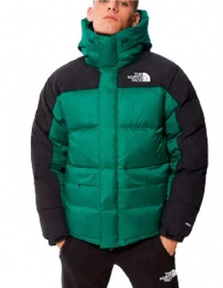 Plumas con Capucha The North Face Himalayan Verde Hombre