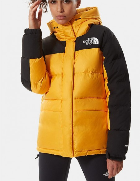 Plumas con Capucha The North Face Himalayan Amarillo Mujer