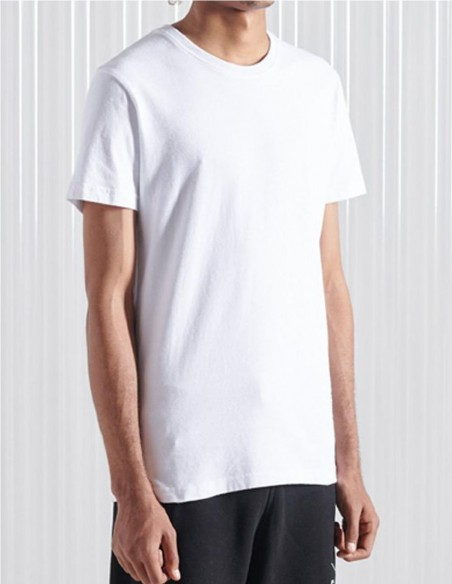 Camiseta Superdry Blanca Hombre M1010348A-T7X