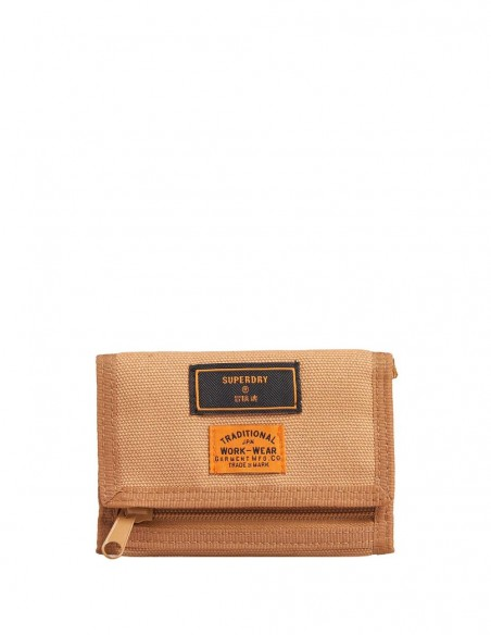 Cartera Superdry Beige